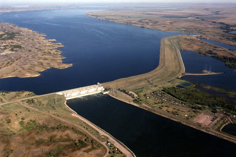 Lake sharpe south dakota missouri river tourism for Missouri river fishing report south dakota